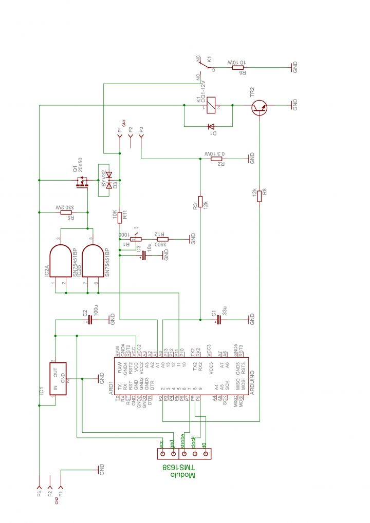Schema Elettrico Per Caricabatterie 12 Volt : Caricabatterie piombo v arduino electronic paradise